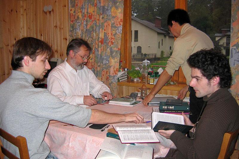 Переводческая группа за работой. 2000-е гг.
