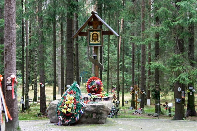 Левашовское кладбище под Петербургом