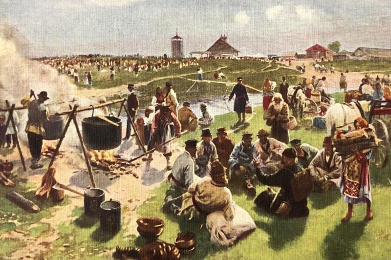 Сельские праздники на картинах Иллариона Прянишникова. Вторая половина XIX века