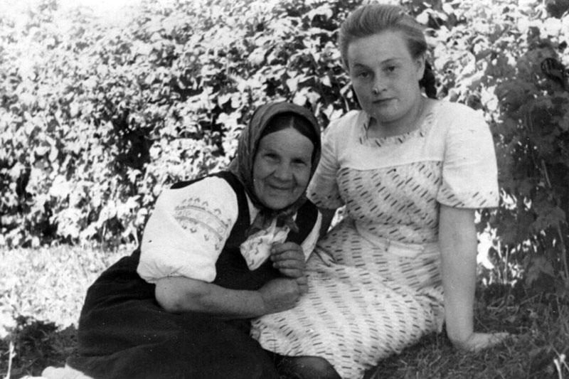 Анна Патукова и Мария Пикина
