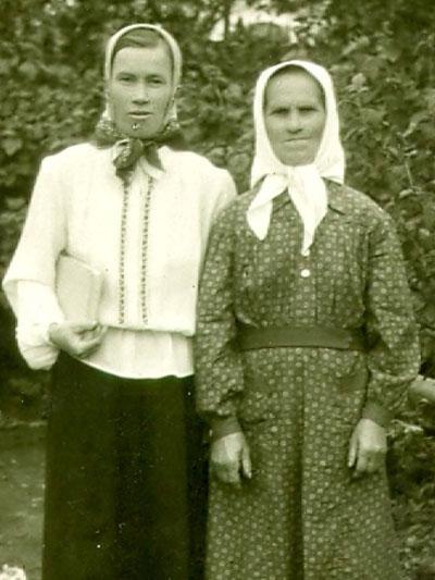 Анна и Харитина Смирновы