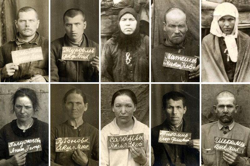 Некоторые из членов общины братьев и сестёр «Светильники», проходивших по уголовному делу 1932–1933 гг.