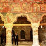 Фрески церкви Успения Пресвятой Богородицы в Каушанах (Молдавия)