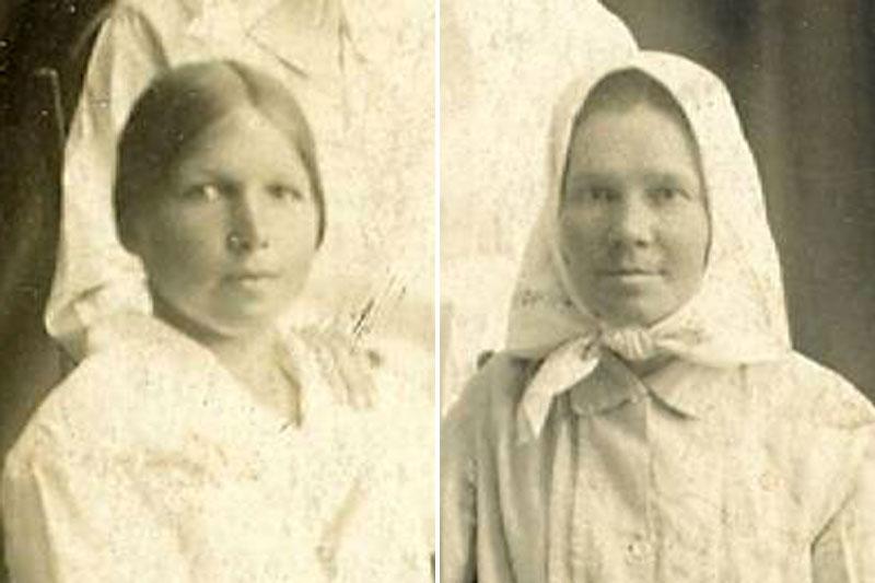 Мария и Анастасия Гоностарёвы