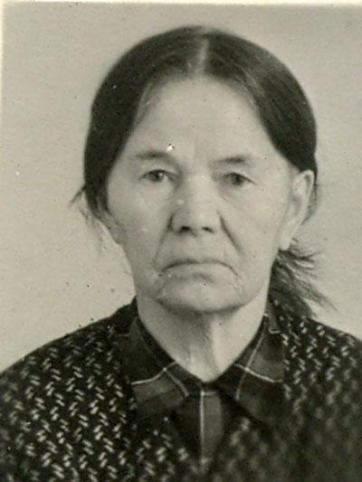 Екатерина Афиногеновна Хазова