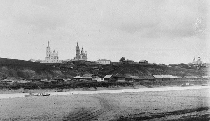 Пермская губерния, г. Чердынь. Фото 1890 г.