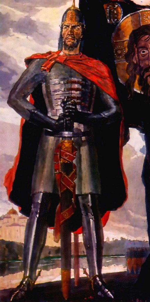 Александр Невский на картине известного художника Павла Корина