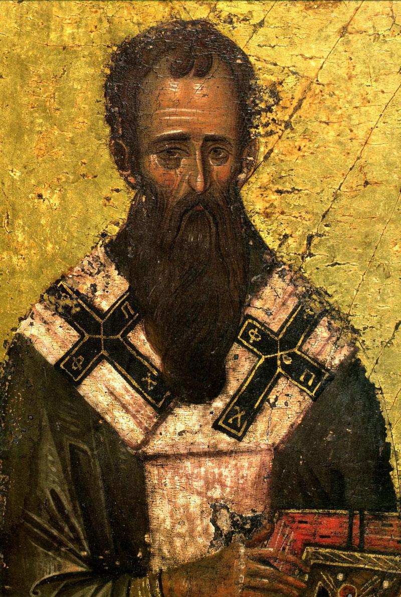 Лик святителя Василия Великого