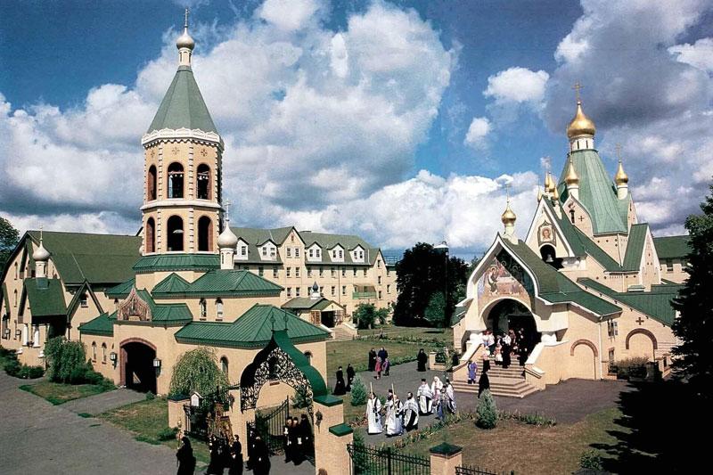 Свято-Троицкий монастырь в Джорданвилле