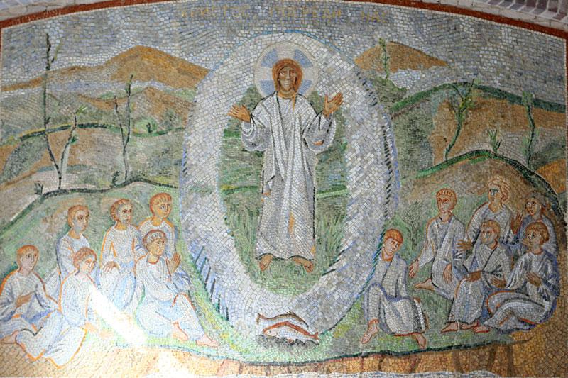 Мозаика Александра Корноухова «Христос посреди нас»