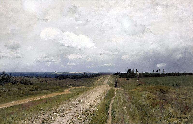 Исаак Левитан. Владимирка. 1892 г.