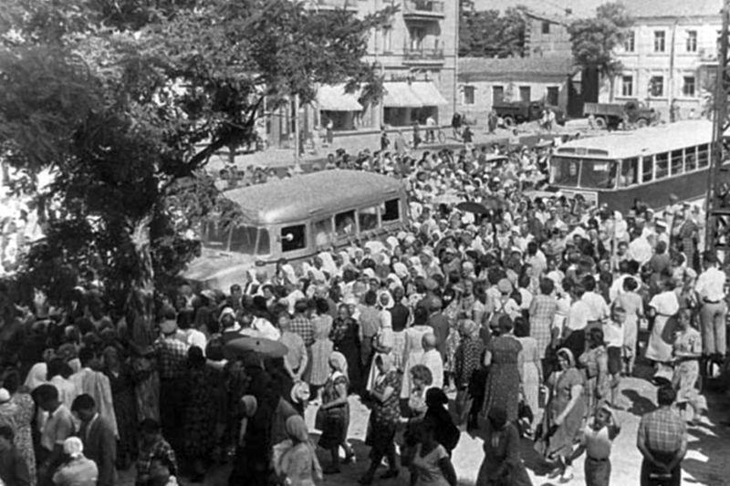 На похоронах святителя Луки. Симферополь, 13 июня 1961 года