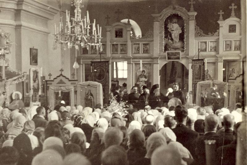 Проповедь святителя Луки после литургии в кафедральном соборе. Симферополь, нач. 1950- х гг.