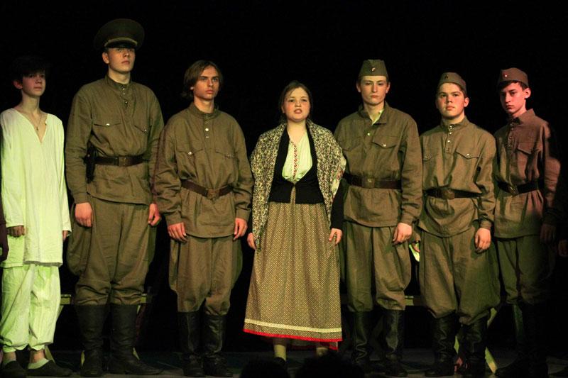 Подростковый театр «Преображение». Война и семейная память