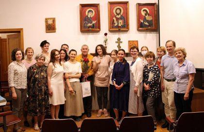После встречи с режиссёром Евгением Цымбалом