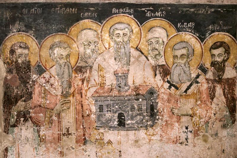 Свв. Кирилл и Мефодий с учениками
