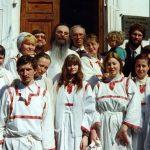 Храм св. вмц. Екатерины на Всполье. 1999 г.
