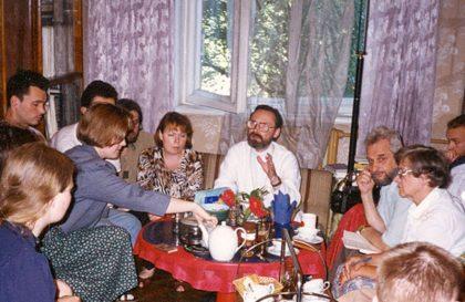 Огласительная встреча в Риге. Начало 1990-х гг.