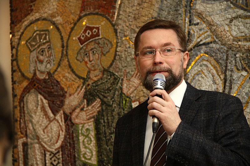 Председатель Преображенского содружества Дмитрий Сергеевич Гасак