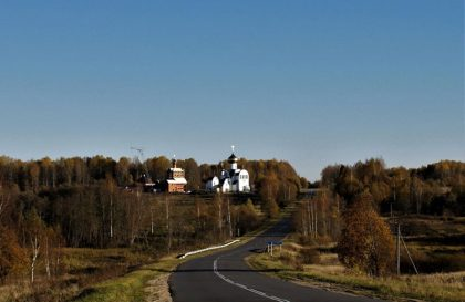 По дороге к Богородице-Одигитриевскому монастырю