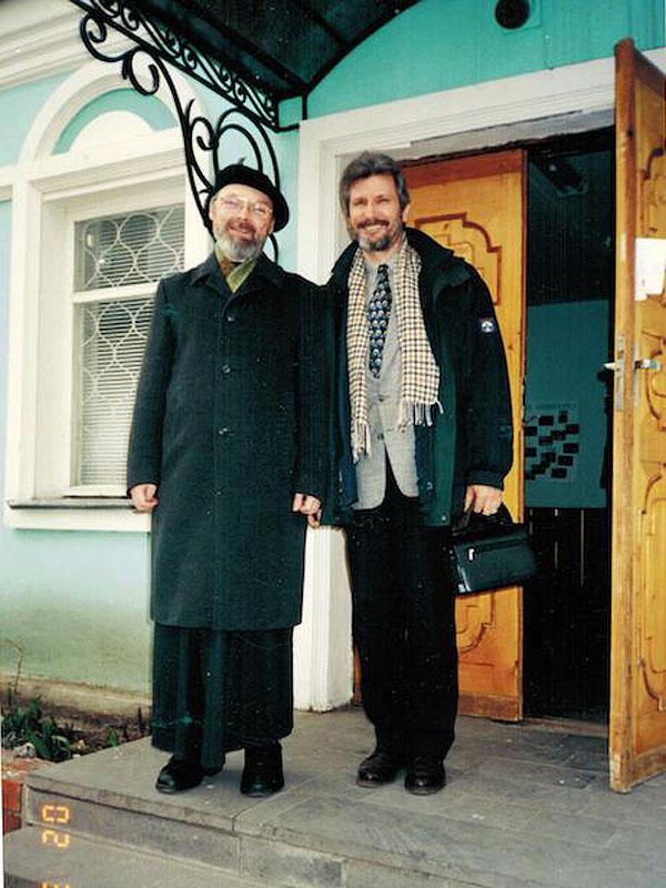 Священник Георгий Кочетков и Роман-Чингиз Бахадов