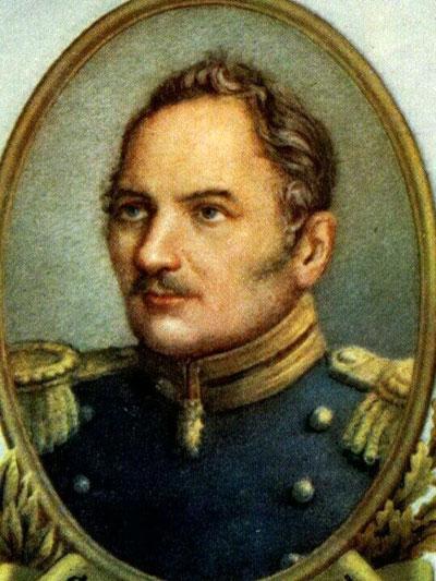 Адмирал Фаддей Фаддеевич (Фабиан Готлиб Беньямин) Беллинсгаузен