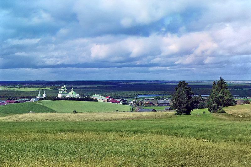 Горицкий монастырь на Шексне. Фотография С.М. Прокудина-Горского, начало XX века
